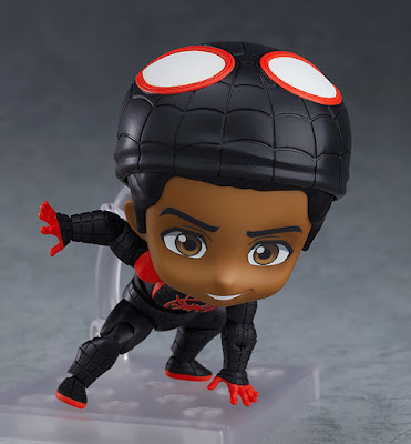 "Figuras: Adorable nendoroid de Miles Morales de ""Spider-Man: Into the Spider-Verse"" - Good Smile Company"