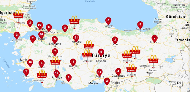 McDonald's stores in Turkey