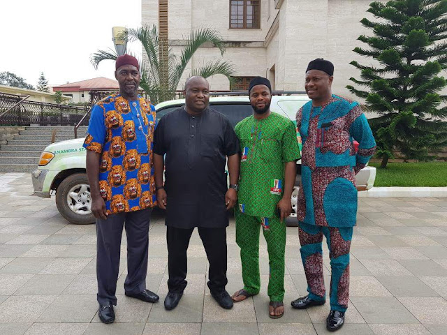 [PHOTOS] APC Leads Delegation To Ubah, Woos Him To Join The Party