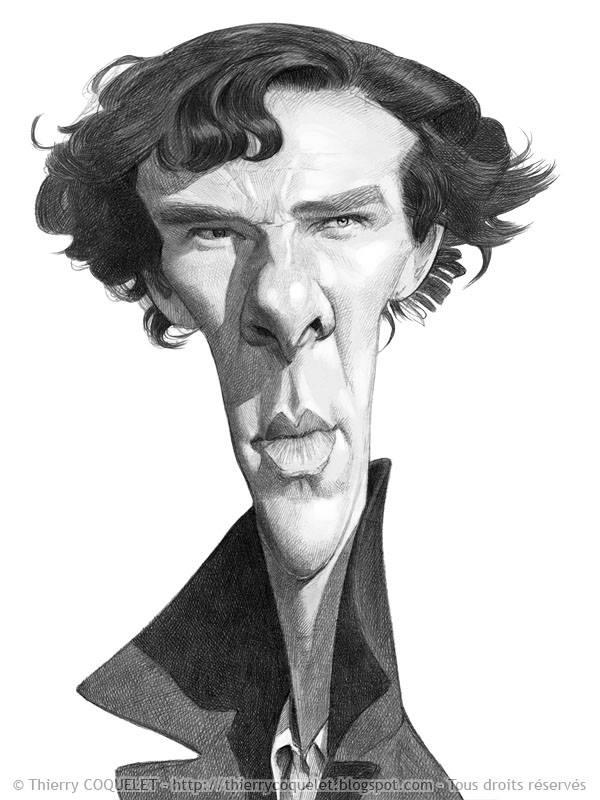 Benedict Cumberbatch por Thierry Coquelet