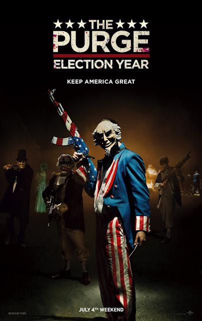 Universal libera 2 novos trailers e posteres de 12 Horas Para Sobreviver - O Ano da Eleição