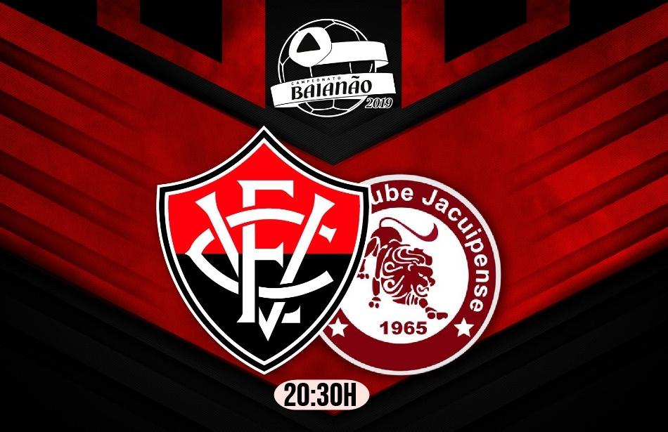 Assistir online Vitória x Jacuipense ao VIVO HD pelo Campeonato Baiano 1