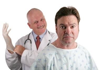 Funny prostate exam joke picture