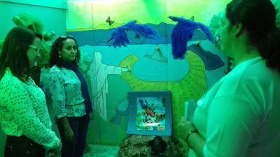 Prefeito de Registro-SP visita a 6ª Mostra Literária da APAE