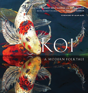 Review: Koi: A Modern Folktalke by Sheldon Harnick with photographs by Margery Gray Harnick and Matt Harnick
