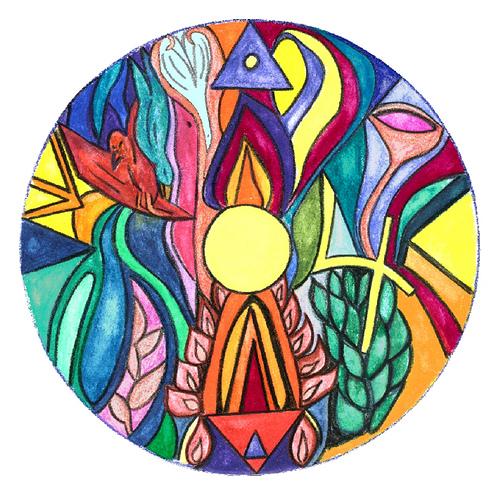 Treasuring Grace Making Whole Art Therapy Process Mandala