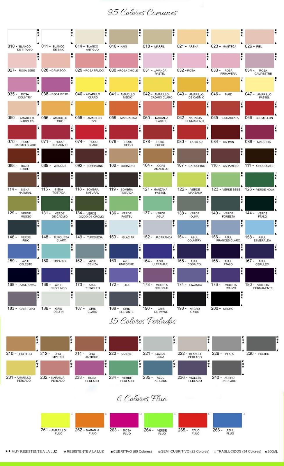 paleta 116 acrilicos decorativos AD