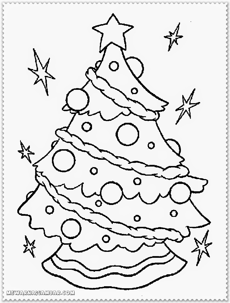 Christmas coloring pages poinsettia