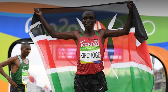 Eliud Kipchoge vence la Maratón de Rio 2016