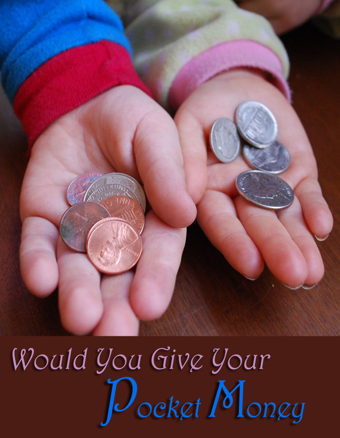 Would You Give Your Child Pocket Money