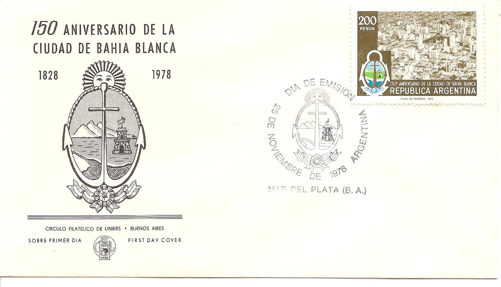 Heráldica en la Argentina: Escudo de Bahía Blanca (Buenos Aires)