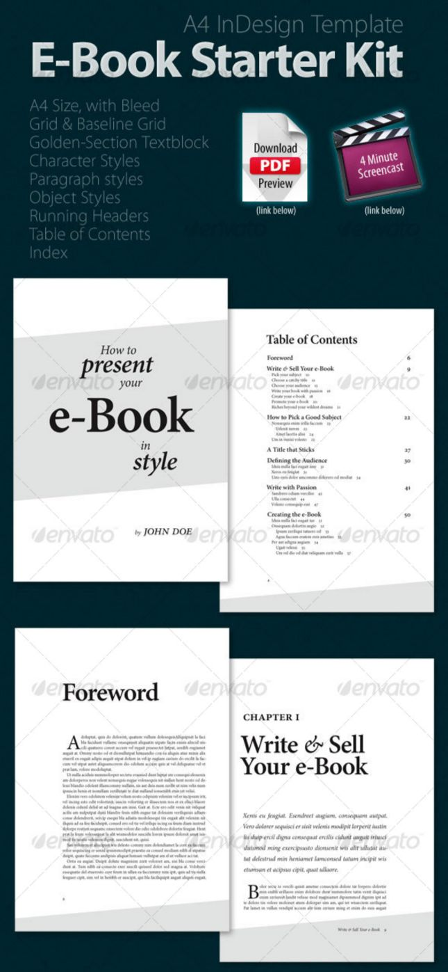 67 best ebook templates indesign epub format to easily for Indesign templates for books