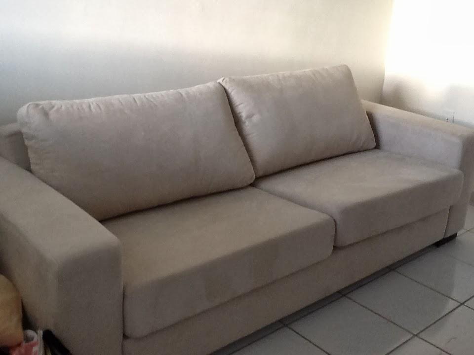 Tok De Requinte Capa Para Sof 225 Com Almofadas De Assento E