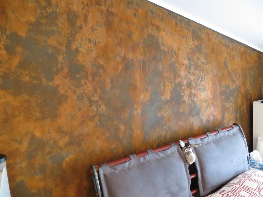 Pintura oxido ironic novacolor - Tipos de pintura para paredes ...