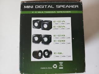 2.0 multimedia speaker types