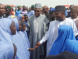 Dangote visits Borno, donates N2bn to IDPs
