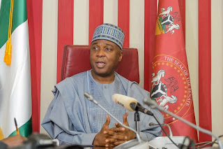 SARAKI CLEARS AIR OF DECLARATION ON 'PRESIDENTIAL ELECTION'