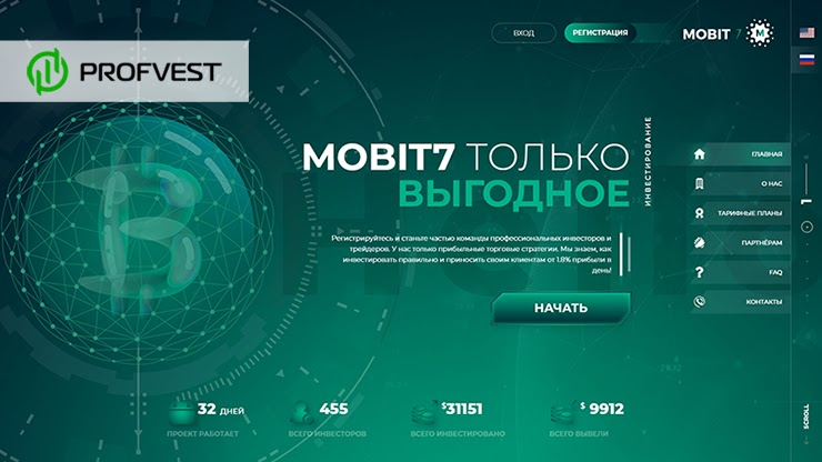 Mobit7 обзор и отзывы HYIP-проекта