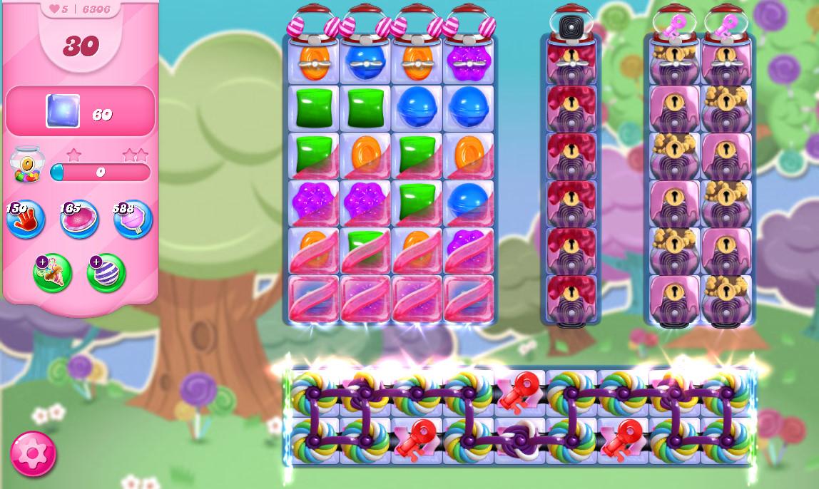 Candy Crush Saga level 6306
