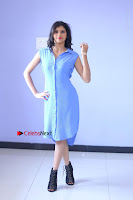 Telugu Actress Mounika UHD Stills in Blue Short Dress at Tik Tak Telugu Movie Audio Launch .COM 0124.JPG