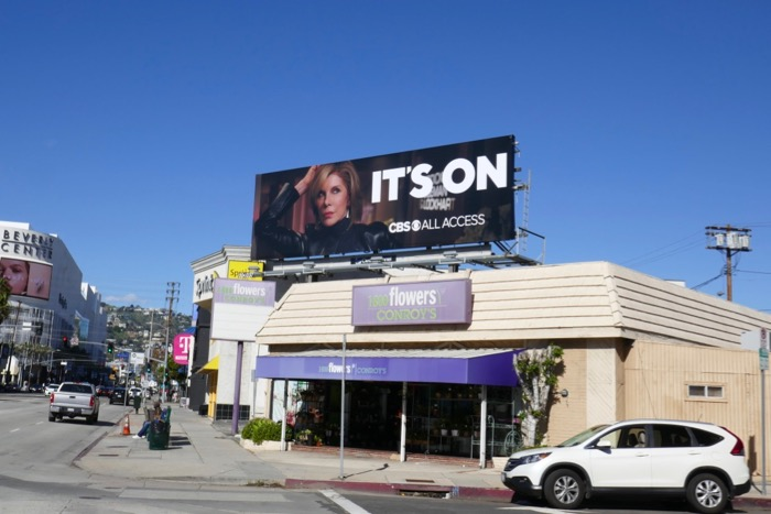 Good Fight CBS Its On billboard