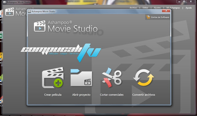 Ashampoo Movie Studio Versión 1.0.4.3 Español