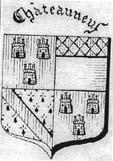 Blason de la famille Châteauneuf