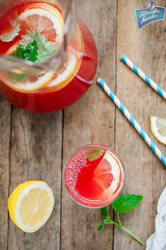 Lemoniada z arbuzem