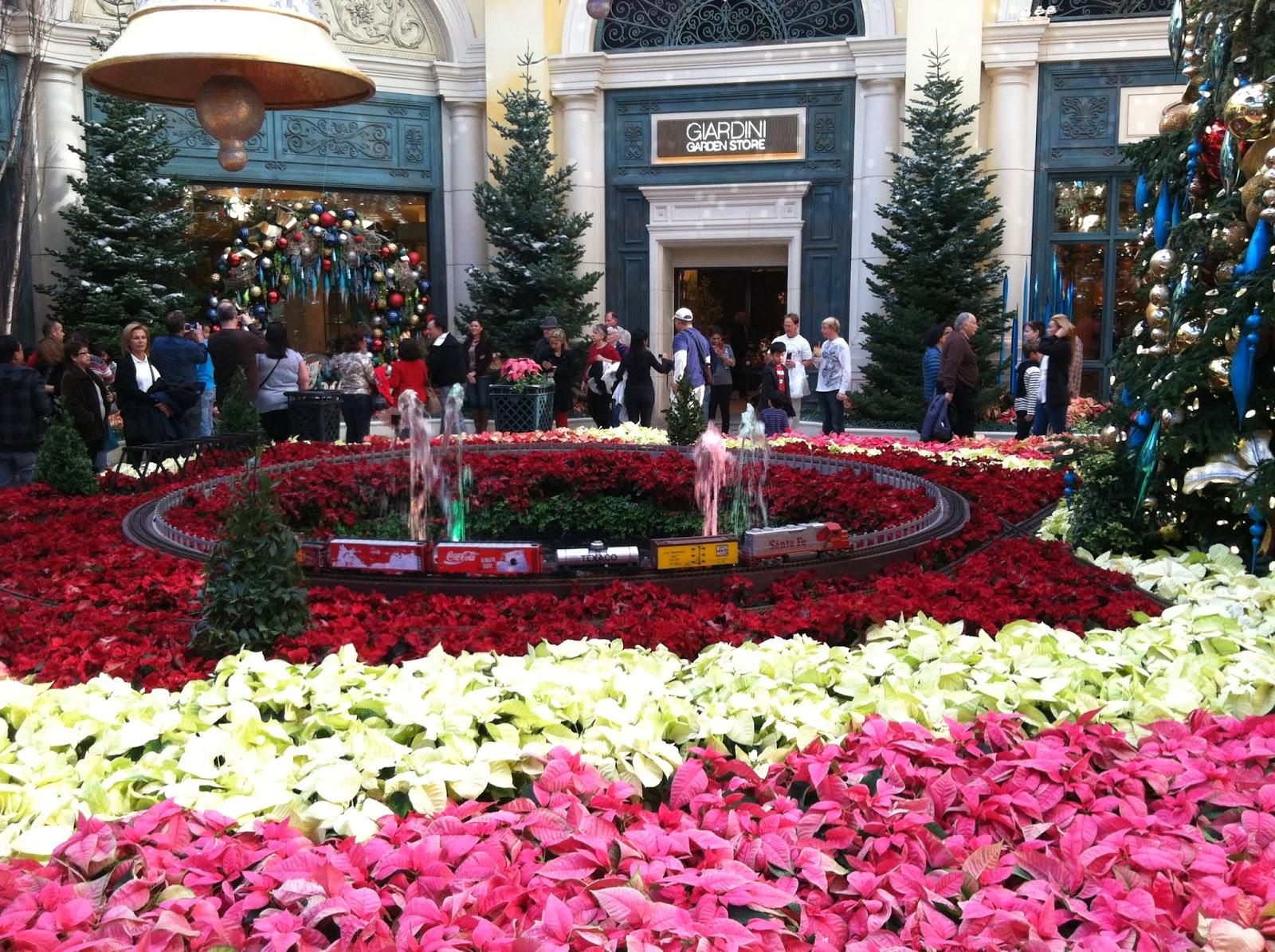 Bellagio Las Vegas Botanical Gardens Christmas 2013