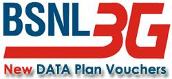 BSNL 3G Prepaid Data Plan Vouchers - BSNL Online Recharge