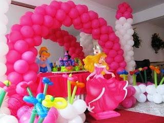 Dekorasi Ulang Tahun Anak Perempuan Tema Princess 8