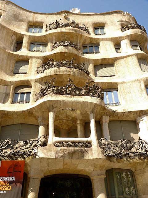 Jewel yet to find Casa Mila  La Pedrera Antoni Gaudi Barcelona Part 5