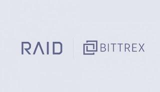 Bittrex International تلغي عرض بيع Raid IEO بسبب إثارة الجدل حول المشروع