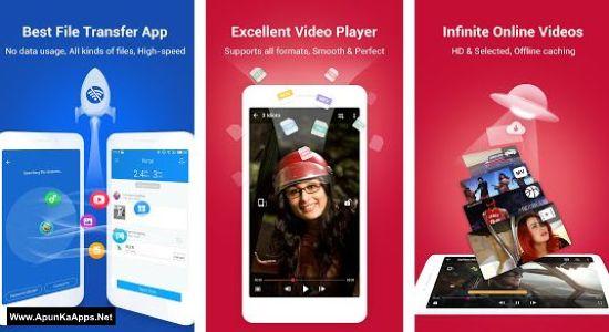 SHAREit v4 5 48 No Ads Mod APK App Free Download