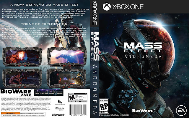 Capa Mass Effect Andromeda Xbox One [Exclusiva]