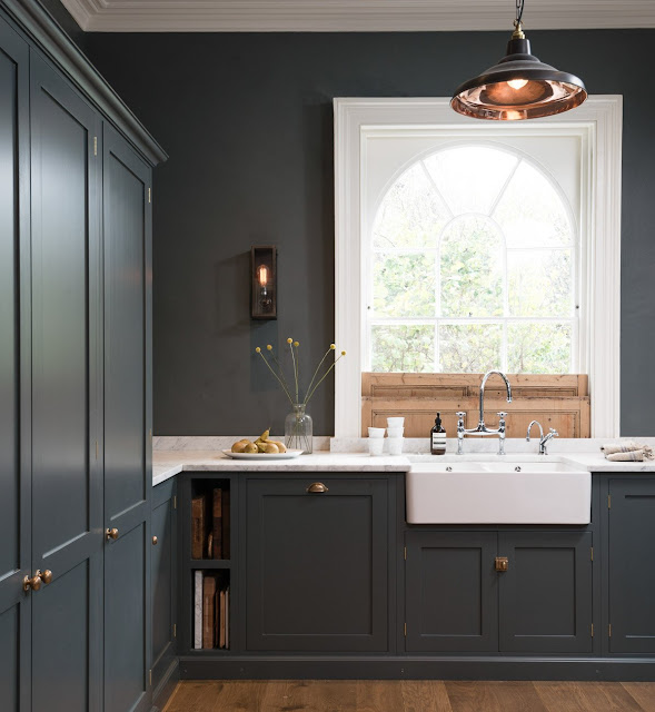 Blue Kitchen London: Kitchen Tour: London Kitchen With Modern Classic Style