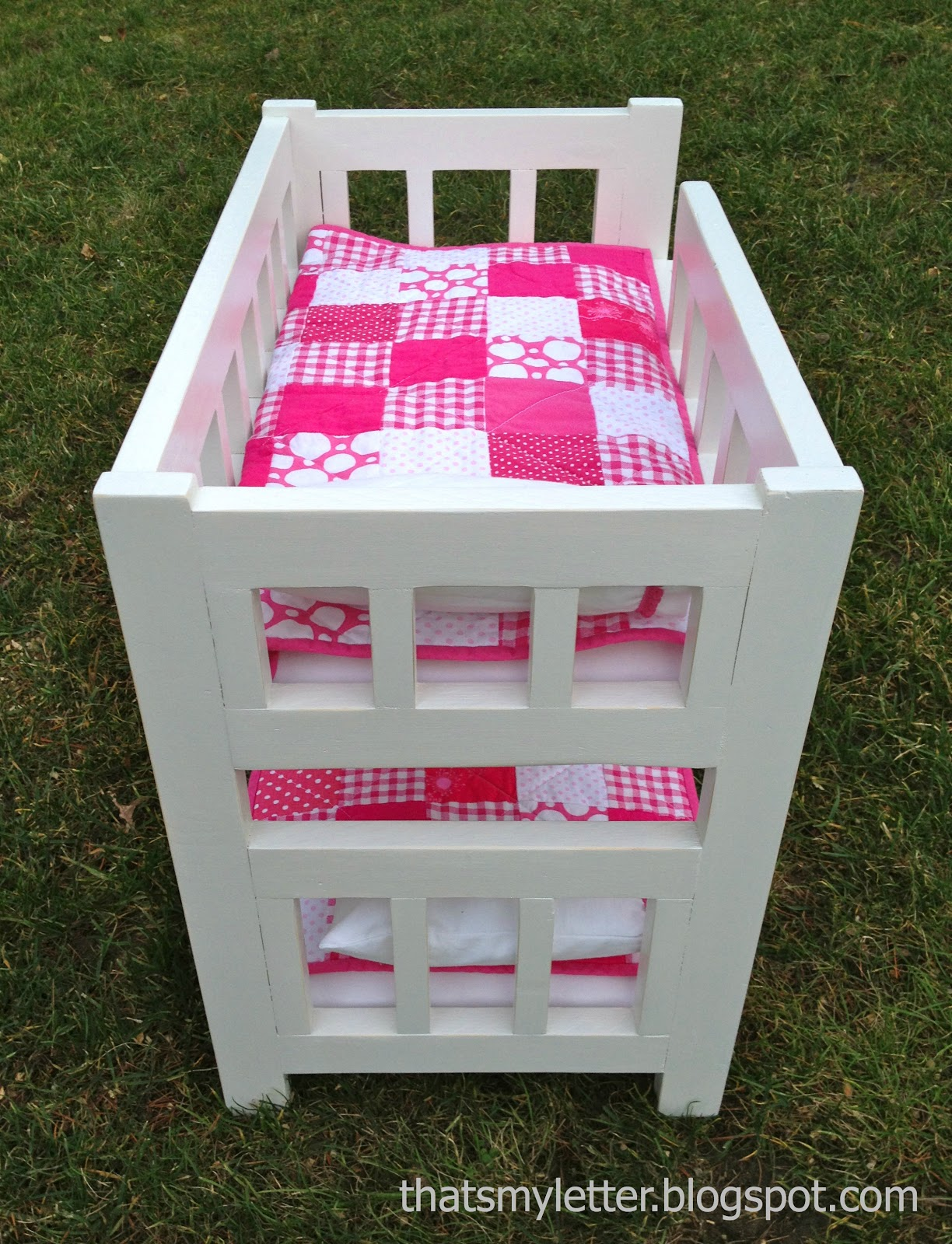 Diy Camp Bunk Bed For Dolls Jaime Costiglio