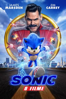Capa Sonic: O Filme Torrent – BluRay 720p | 1080p Dual Áudio Torrent (2020) Download