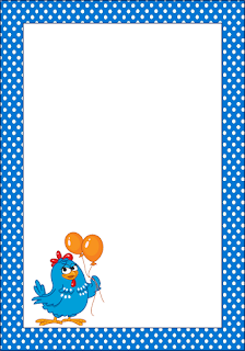 Lottie Dottie Chicken Free Printable Frames, Invitations or Cards ...