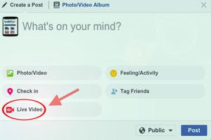 Cara Live Streaming Video di Facebook Melalui Komputer