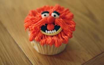 Wallpaper: The Muppets Cupcake