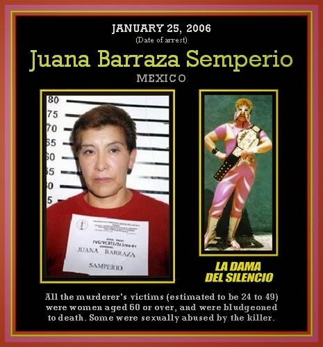 "8. जुआना बर्राजा, मेक्सिको (Juan Barraza ""Old Lady Killer"", Mexico)"