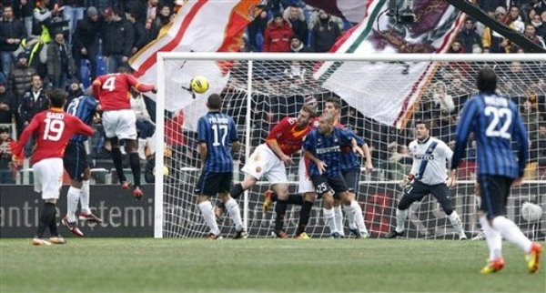 AS Roma Vs Inter Milan