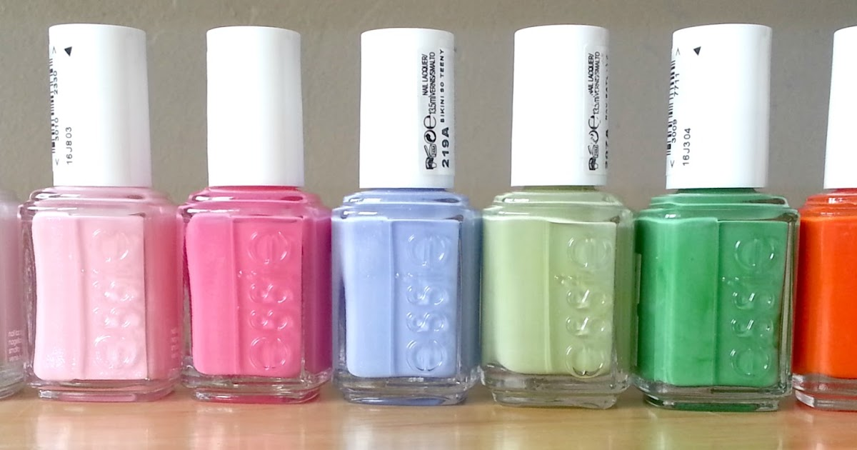 Luceeloves My Discounted Essie Nail Polish Collection