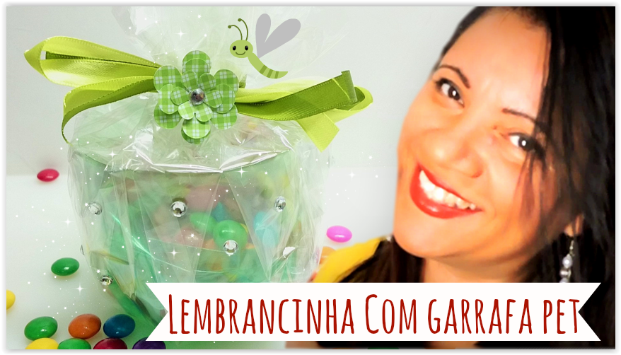Artesanato Jardim Da Estrela ~ Artesanato Viviane Magalh u00e3es Como Fazer Lembrancinha Com Garrafa Pet para o Dia Das Crianças