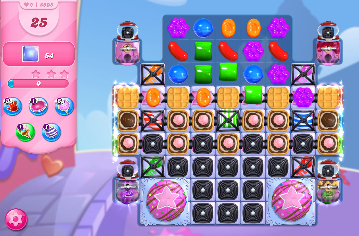 Candy Crush Saga level 5505