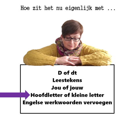 Trigger Tekst: Hoofdletter of kleine letter?