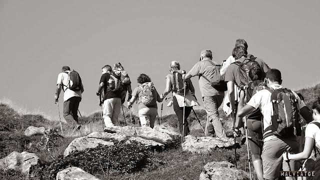 grup excursionista ràpita