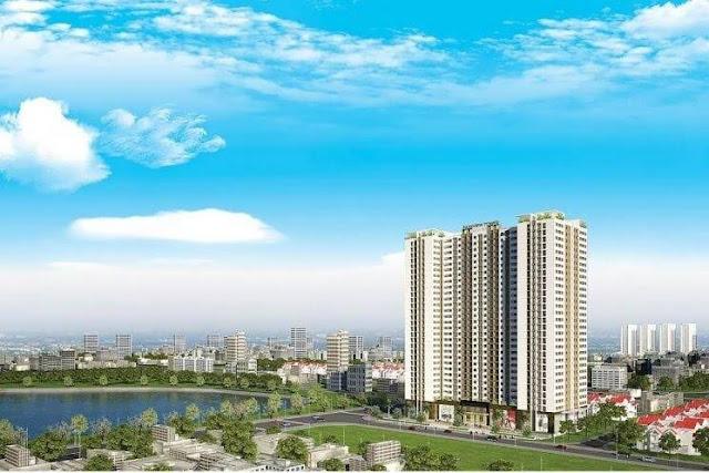 Dự án chung cư Ecolake View Hoàng Mai.