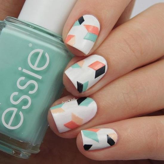 5 Shockingly Simple Geometric Nail Art Ideas You'll Love